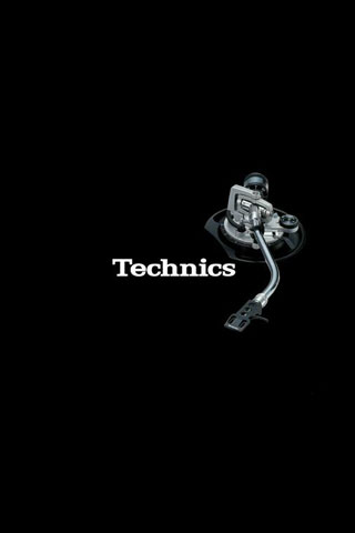 Technics iPod Touch Wallpaper