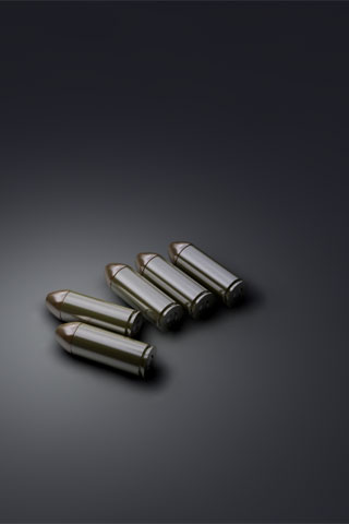 Gun Bullets iPod Touch Wallpaper