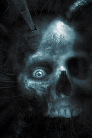 Skeleton iPod Touch Wallpaper