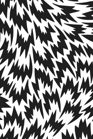 Black Pattern iPod Touch Wallpaper