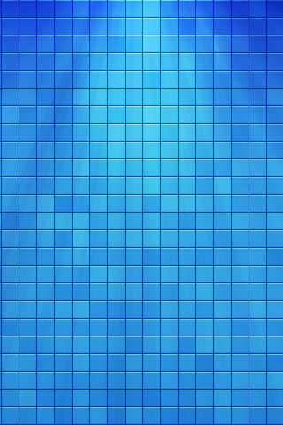 Blue Pattern iPod Touch Wallpaper