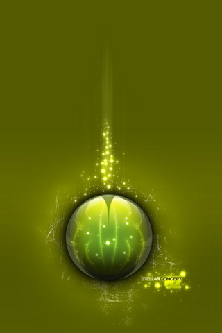 Stellar Concept iPod Touch Wallpaper