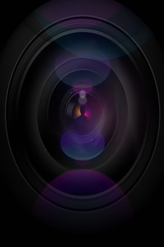Lens iPod Touch Wallpaper