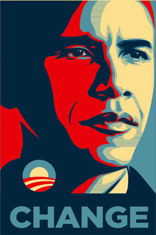 Barack Obama iPod Touch Wallpaper