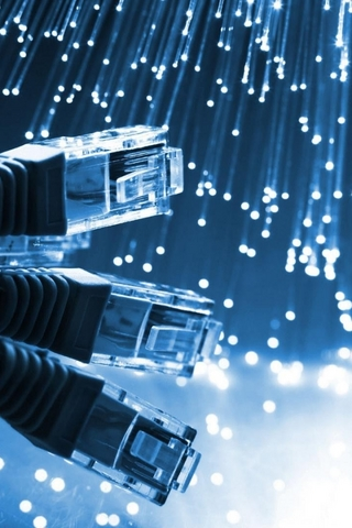 Fiber Internet iPod Touch Wallpaper