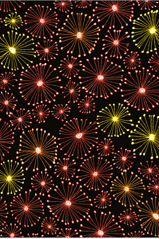 Fireworks iPod Touch Wallpaper
