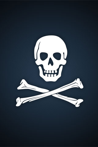 Pirate Logo iPod Touch Wallpaper