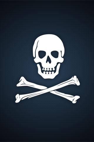 Pirate Logo iPod Touch Wallpaper