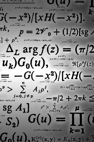 Math Formula iPod Touch Wallpaper