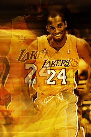 Kobe Bryant iPod Touch Wallpaper