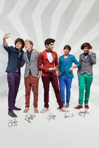 One Direction iPod Touch Wallpaper