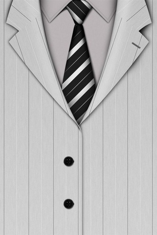 Suit iPod Touch Wallpaper