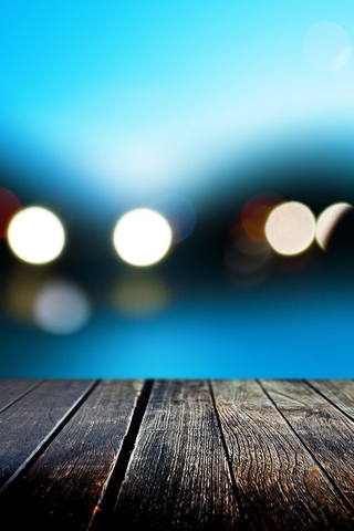 Bokeh iPod Touch Wallpaper