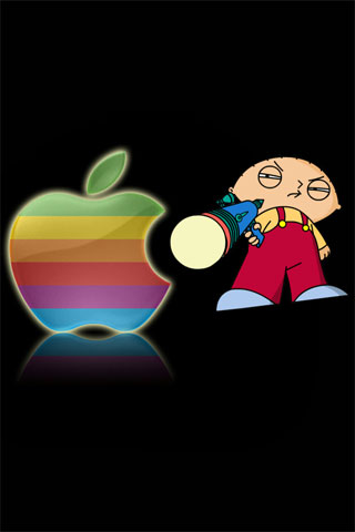 Stewie iPod Touch Wallpaper