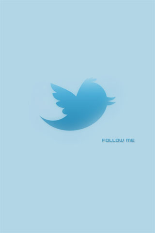 Twitter iPod Touch Wallpaper