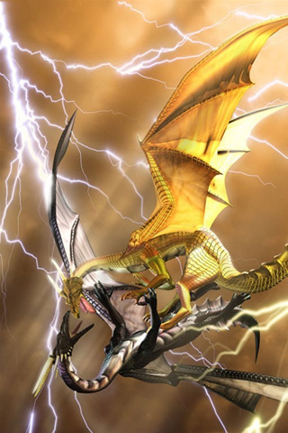 Dragon iPod Touch Wallpaper