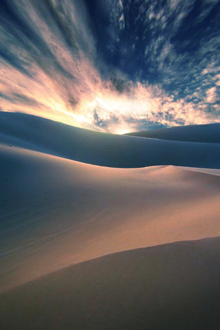 Sand Dune iPod Touch Wallpaper