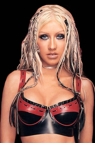 Christina Aguilera iPod Touch Wallpaper