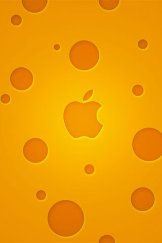 Apple Cheese iPod Touch Wallpaper