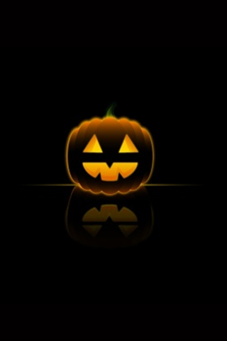 Halloween Pumpkin iPod Touch Wallpaper