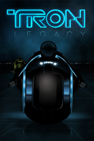 Tron iPod Touch Wallpaper