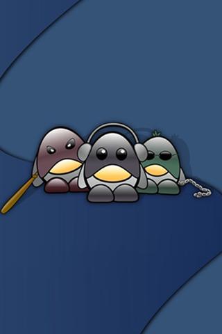 Gangster Cartoon iPod Touch Wallpaper