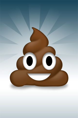 Happy Poo iPod Touch Wallpaper