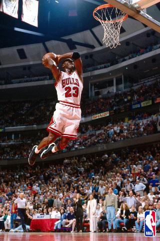 Michael Jordan iPod Touch Wallpaper