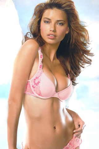 Adriana Lima iPod Touch Wallpaper