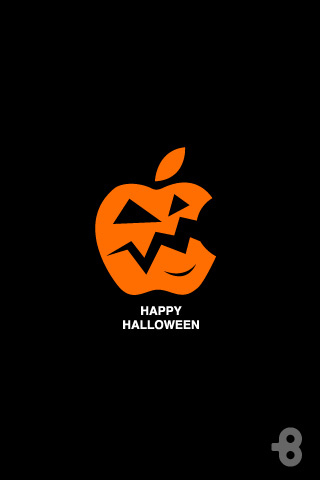 Happy Halloween iPod Touch Wallpaper