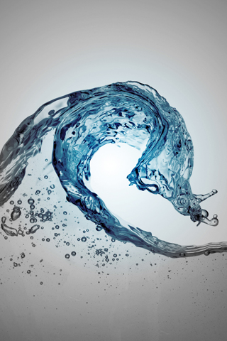 Water Wave iPod Touch Wallpaper