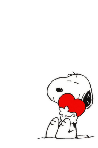 Snoopy iPod Touch Wallpaper