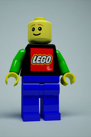 Lego Man iPod Touch Wallpaper