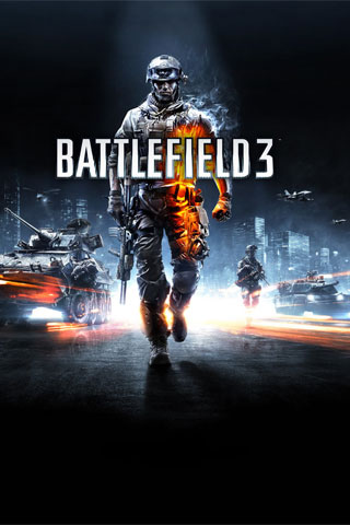 Battlefield 3 iPod Touch Wallpaper