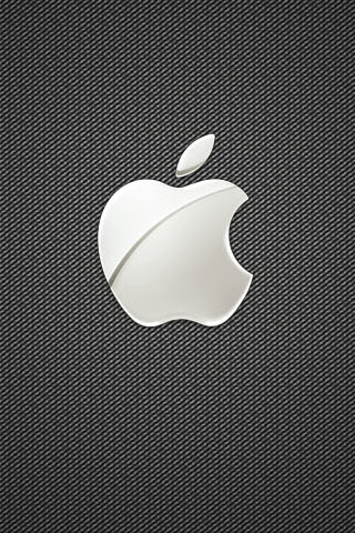 Apple Stitch iPod Touch Wallpaper