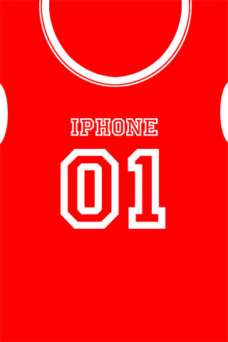 Jersey iPod Touch Wallpaper