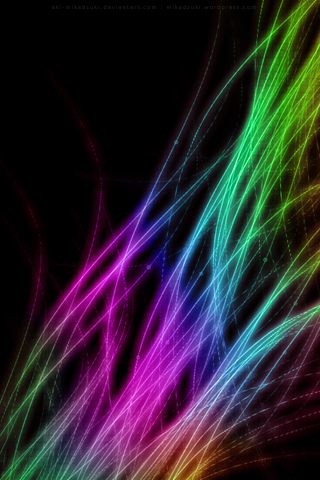 Lifestream iPod Touch Wallpaper
