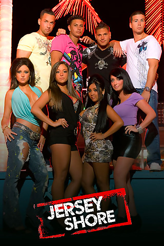 Jersey Shore iPod Touch Wallpaper