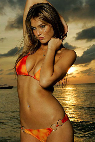 Bar Refaeli iPod Touch Wallpaper