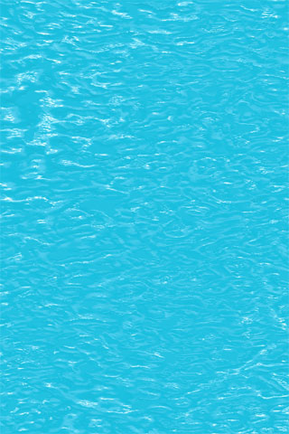 Turquoise Water iPod Touch Wallpaper