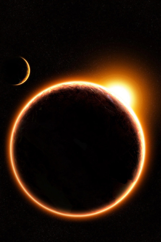 Eclipse iPod Touch Wallpaper