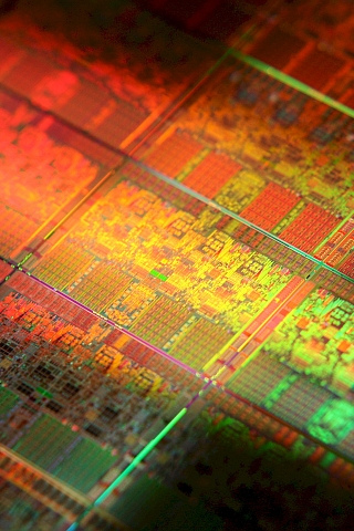 Microchip iPod Touch Wallpaper