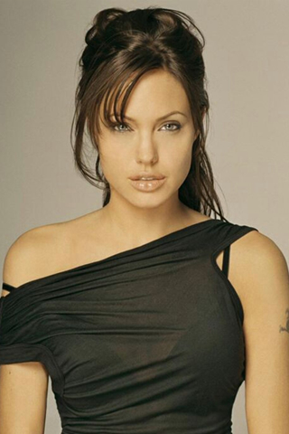 Angelina Jolie iPod Touch Wallpaper