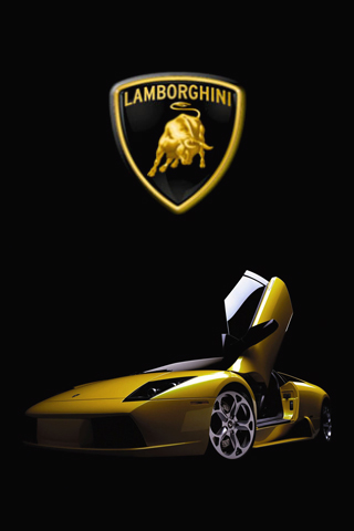 Lamborghini iPod Touch Wallpaper
