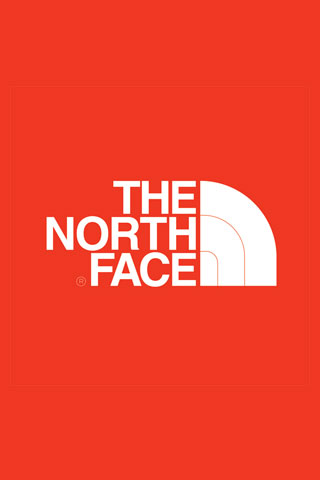 North Face Logo iPod Touch Wallpaper