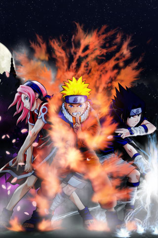 Naruto iPod Touch Wallpaper