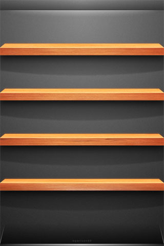 Shelf iPod Touch Wallpaper