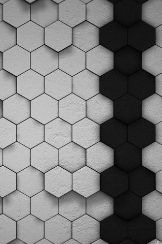 Gray Blocks iPod Touch Wallpaper
