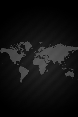 World Map iPod Touch Wallpaper