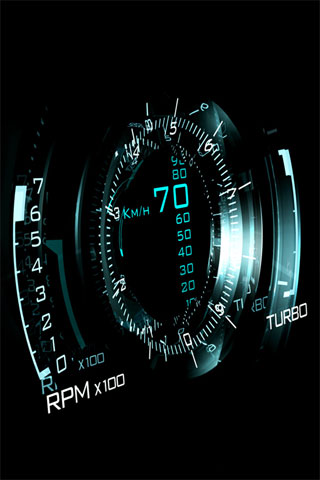 Gauge iPod Touch Wallpaper